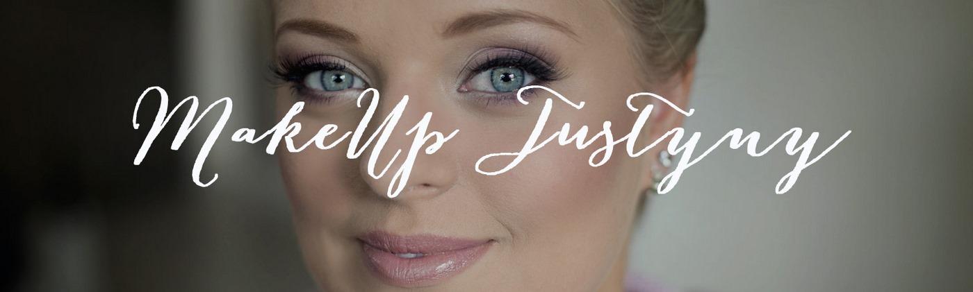 Ślubny makijaż Justyny