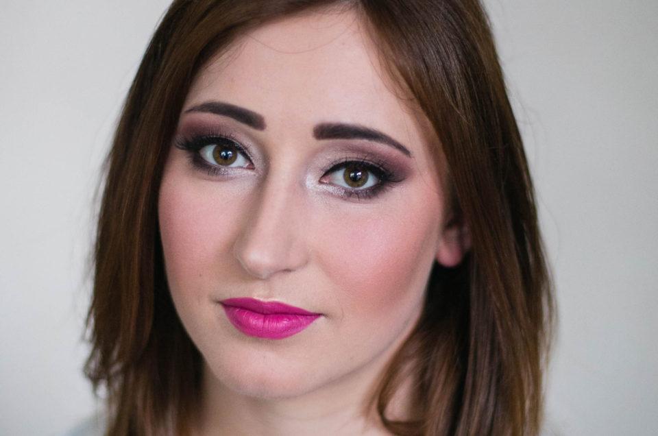 Sandra – makijaż na sesję ślubną w plenerze
